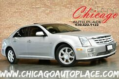 2006_Cadillac_STS_3.6L VVT V6 ENGINE REAR WHEEL DRIVE BLACK LEATHER HEATED SEATS KEYLESS GO SUNROOF WOOD GRAIN INTERIOR TRIM BOSE AUDIO DUAL ZONE CLIMATE_ Bensenville IL