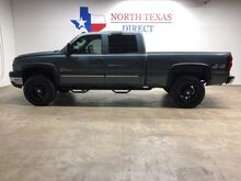 2006_Chevrolet_Silverado 2500HD_LT Z71 4x4 Diesel Lifted Black American Racing Touch Screen_ Mansfield TX