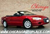 2006 Chrysler Sebring Convertible GTC - 2.7L V6 ENGINE FRONT WHEEL DRIVE BLACK SOFT TOP CHARCOAL CLOTH PREMIUM WHEELS