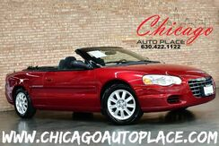 2006_Chrysler_Sebring Convertible_GTC - 2.7L V6 ENGINE FRONT WHEEL DRIVE BLACK SOFT TOP CHARCOAL CLOTH PREMIUM WHEELS_ Bensenville IL