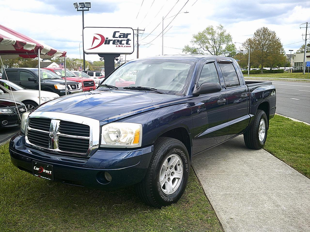 2006 dodge dakota quad cab slt 4x4 carfax certified 4 7l. Black Bedroom Furniture Sets. Home Design Ideas