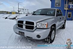 2006_Dodge_Dakota_SLT / 4X4 / 4.7L V8 / Crew Cab / Automatic / Auto Start / Aux Input / Cruise Control / Bed Liner / Fog Lights / New Tires / Aluminum Wheels / Tow Pkg / Only 88K MIles_ Anchorage AK