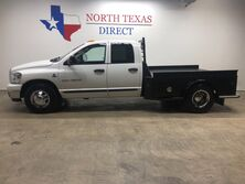 Dodge Ram 3500 2006 SLT 2WD Flat Bed Quad 6 Speed 5.9L Cummins Diesel 2006