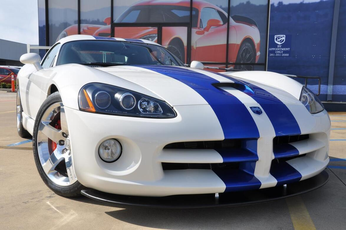 2006 Dodge Viper SRT10 VOI9 Prefix Package Tomball TX