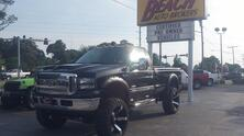 FORD F-250 XLT SUPER DUTY 4X4, AUTOCHECK CERTIFIED,6.0L V8 TURBO DIESEL, LEATHER, BLUETOOTH, HARD TONNEAU COVER 2006