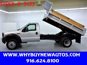 Ford F450 ~ 4x4 ~ 11ft Dump Bed ~ Only 7K Miles! 2006