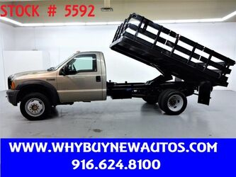 Ford F450 ~ 4x4 ~ PowerStroke Diesel ~ 12ft Stake/Dump Bed ~ Only 21K Miles! 2006