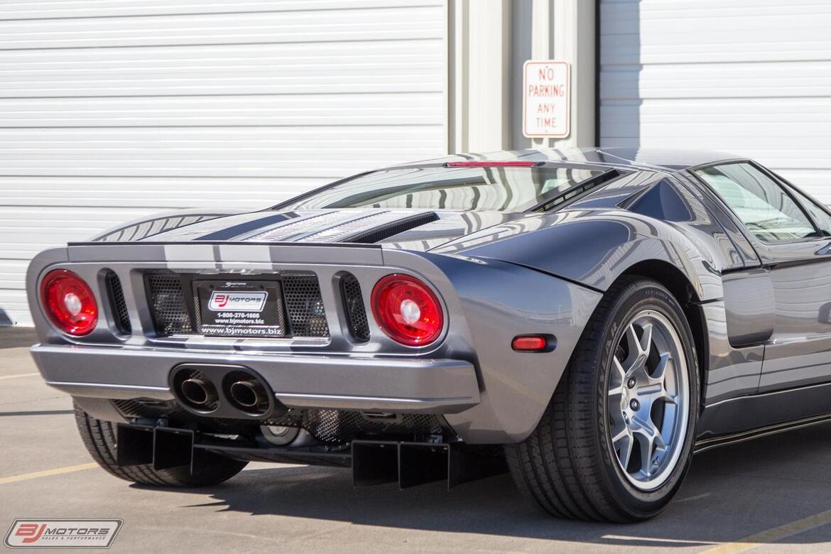 2006 Ford GT Tungsten 4 option 83 Miles Tomball TX