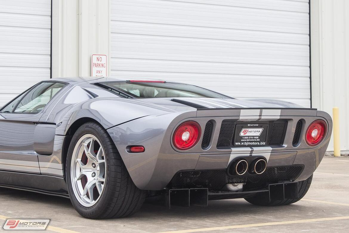 2006 Ford GT in Tungsten with Silver Stripes Red Calipers 3 Option Ford GT Tomball TX