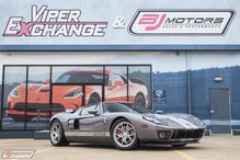 2006 Ford GT in Tungsten with Silver Stripes Red Calipers 3 Option Ford GT