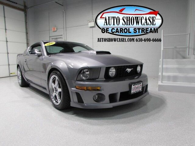2006 ford mustang roush stage 2 supercharged carol stream il 24043856. Black Bedroom Furniture Sets. Home Design Ideas