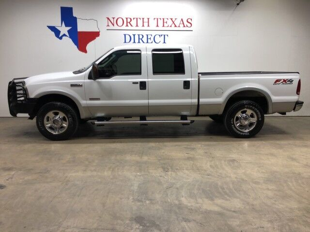 2006 Ford Super Duty F-250 2006 Lariat FX4 4WD 6.0L Diesel Leather Heated Seats Mansfield TX