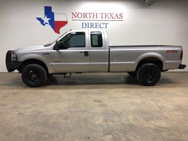 2006 Ford Super Duty F-250 FX4 4x4 Diesel Gps Navigation Ranch Hand Bumpers Mansfield TX