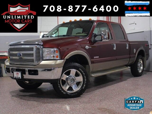 2006 Ford Super Duty F-250 King Ranch 4WD Bridgeview IL