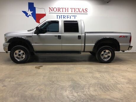 2006 Ford Super Duty F-250 Lariat FX4 4WD Leather 6.0L Turbo Diesel Tow Package Mansfield TX