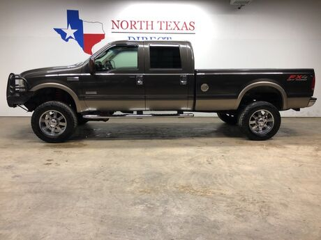 2006 Ford Super Duty F-250 Lariat FX4 4x4 Diesel Lifted Chrome Leather Ranch Hand Mansfield TX