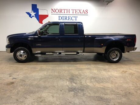 2006 Ford Super Duty F-350 DRW King Ranch 4x4 Dually Diesel Touchscreen Sunroof Mansfield TX