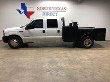 2006_Ford_Super Duty F-350 DRW_XL Dually Diesel Skirted CM Flat Bed Rare 6 Spd Manual_ Mansfield TX