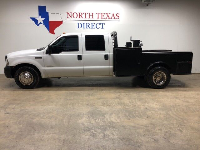 2006 Ford Super Duty F-350 DRW XL Dually Diesel Skirted CM Flat Bed Rare 6 Spd Manual Mansfield TX