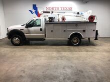 2006_Ford_Super Duty F-450 DRW_F450 XLT Diesel Reading Utility Bed Auto Crane Air Compressor_ Mansfield TX