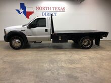 2006_Ford_Super Duty F-550 DRW_XL 6.0 Powerstroke Diesel Flat Bed Regular Cab Dually_ Mansfield TX