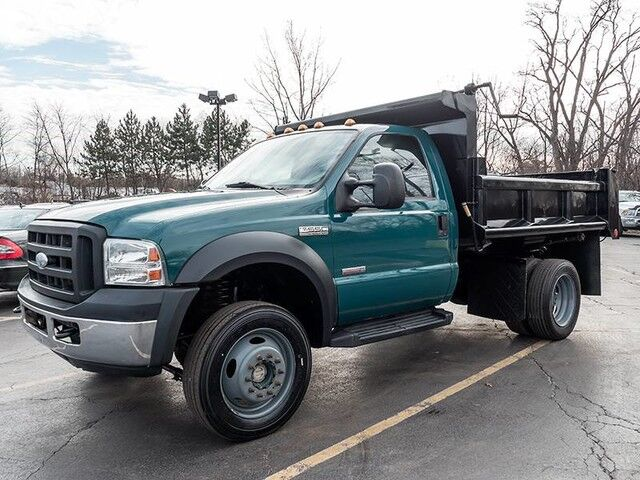 2006_Ford_Super Duty F-550 DRW XLT_Dump Truck_ Chicago IL