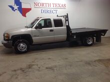 2006_GMC_Sierra 3500_3500 HD Dually Diesel Flatbed Touch Screen Bluetooth_ Mansfield TX