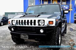2006_HUMMER_H2_Adventure Edition / 4X4 / 6.0L Vortec V8 / Heated Front & Rear Leather Seats / Auto Start / Pioneer Deck / Bose Speakers / Custom Sound System / Bluetooth / Back-Up Camera / Only 76K Miles_ Anchorage AK