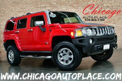 2006_HUMMER_H3_- 3.5L 5-CYL ENGINE 1 OWNER 4 WHEEL DRIVE BLACK LEATHER HEATED SEATS SUNROOF CHROME WHEELS_ Bensenville IL