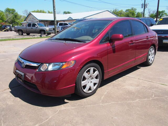2006 Honda Civic Lx Richwood Tx 21717479
