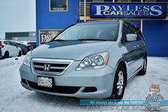 2006_Honda_Odyssey_EX-L / Automatic / Auto Start / Heated Leather Seats / Navigation / Sunroof / Power Sliding Doors / Rear Entertainment / Aux Input / Back Up Camera / 3rd Row / Seats 8 / 28 MPG / 1-Owner_ Anchorage AK
