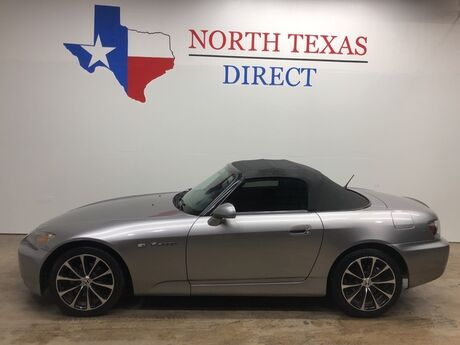 2006 Honda S2000 6 Speed Leather New Clutch Low Miles Needs Soft Top Mansfield TX