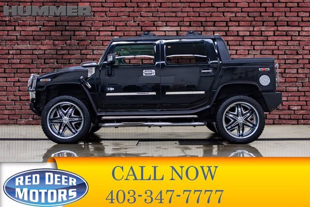 2006 Hummer H2 SUT Luxury Edition Leather Roof Red Deer AB