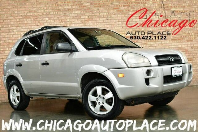 2006 Hyundai Tucson GL - 2.0L I4 ENGINE FRONT WHEEL DRIVE GRAY CLOTH INTERIOR CLIMATE CONTROL PREMIUM ALLOY WHEELS ROOF RACK Bensenville IL