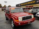 2006 JEEP COMMANDER LIMITED 4X4, BUYBACK GUARANTEE,WARRANTY,LEATHER, NAVIGATION, SUNROOF, DVD PLAYER, 3RD ROW,LOW MILES!