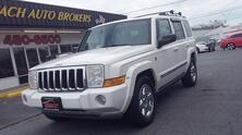 JEEP COMMANDER LIMITED 4X4, CARFAX CERTIFIED, HEATED LEATHER, NAV, PARKING SENSORS, REMOTE START, LOW MILES! 2006