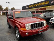 2006_JEEP_COMMANDER_LIMITED 4X4, CERTIFIED W/WARRANTY, LEATHER, NAVIGATION, SUNROOF, DVD PLAYER, 3RD ROW,  LOW MILES!!!!_ Norfolk VA