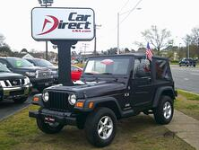 JEEP WRANGLER X 4X4, AUTOCHECK CERTIFIED, MANUAL, CRUISE CONTROL, TOW PACKAGE, MINT!!! 2006