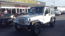 JEEP WRANGLER X 4X4, CARFAX CERTIFIED, SATELLITE, 6 SPEED MANUAL, FOG LAMPS, TOW PKG, ONE OWNER, ONLY 75K MILES! 2006