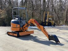 2006_John Deere_17ZYS Mini Excavator_Jack Hammer and Big Tow Trailer Package_ Crozier VA