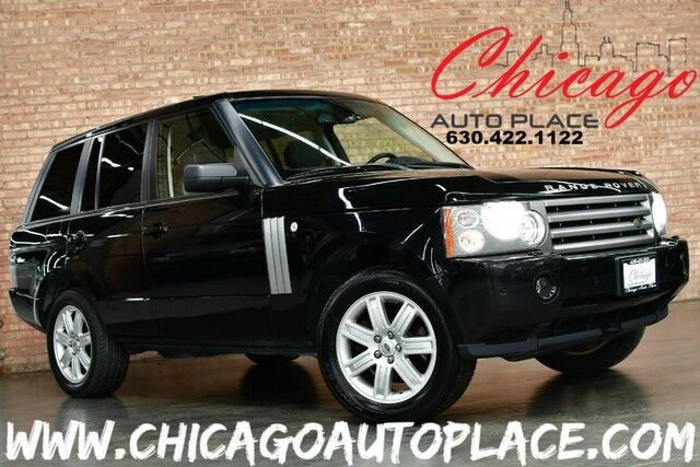 2006 Land Rover Range Rover HSE - 4.4L SMPI V8 ENGINE 4 WHEEL DRIVE NAVIGATION BACKUP CAMERA BLACK LEATHER HEATED SEATS SUNROOF XENONS Bensenville IL