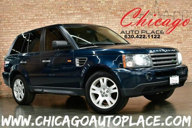 2006 Land Rover Range Rover Sport HSE - 4.4L V8 ENGINE 4 WHEEL DRIVE NAVIGATION PARKING SENSORS BLACK LEATHER HEATED SEATS SUNROOF XENONS HARMAN/KARDON AUDIO Bensenville IL