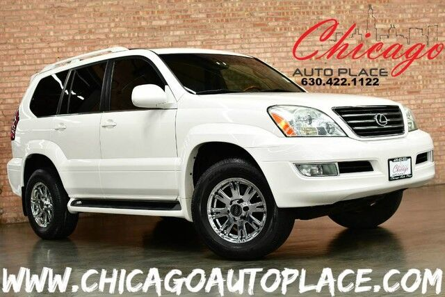 2006 Lexus GX 470 4.7L V8 ENGINE 4 WHEEL DRIVE NAVIGATION BACKUP CAMERA GRAY LEATHER HEATED SEATS SUNROOF 3RD ROW SEATING REAR TV Bensenville IL