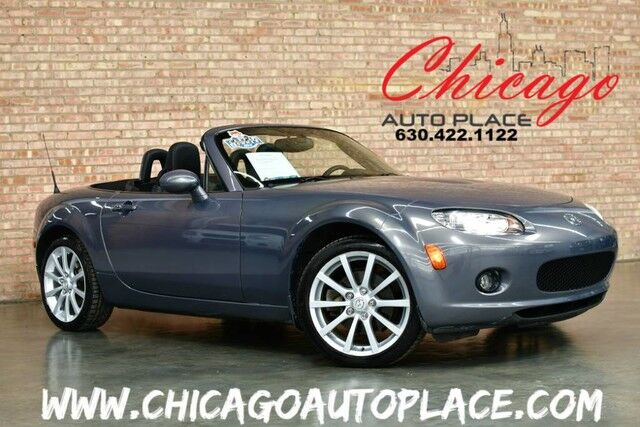 2006 mazda mx 5 miata grand touring convertible 1 owner 6 speed manual leather sport seats. Black Bedroom Furniture Sets. Home Design Ideas