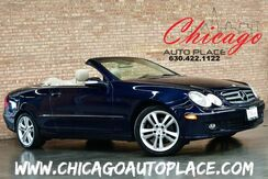 2006_Mercedes-Benz_CLK 350_CABRIOLET - CLEAN CARFAX 3.5L V6 ENGINE BLUE CONVERTIBLE TOP BEIGE LEATHER INTERIOR HARMAN/KARDON AUDIO WOOD GRAIN INTERIOR TRIM PREMIUM ALLOY WHEELS_ Bensenville IL