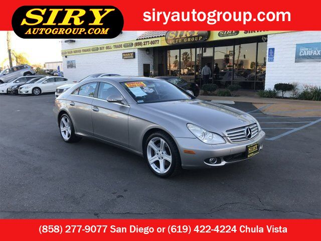 used mercedes-benz cls-class san diego ca