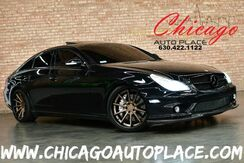 2006_Mercedes-Benz_CLS-Class_CLS 55 AMG - 5.5L AMG BUILT SUPERCHARGED V8 ENGINE REAR WHEEL DRIVE FERRADA FR4 WHEELS NAVIGATION BLACK LEATHER HEATED SEATS SUNROOF XENONS_ Bensenville IL