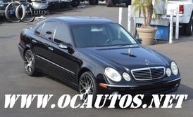 Mercedes-Benz E-CLASS 3.5L E350 BLACK ON BLACK PREMIUM WHEELS 2006