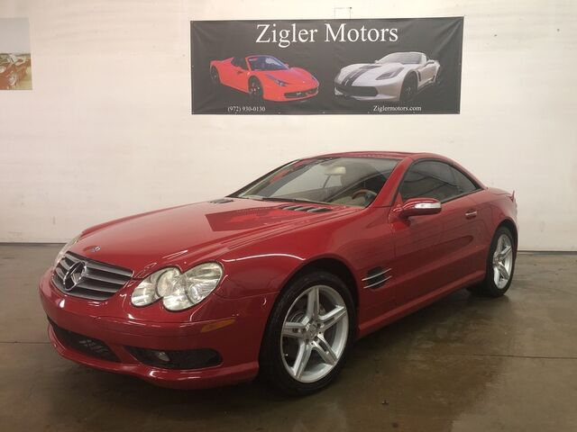 2006 Mercedes-Benz SL-Class AMG Sport 5.0L Red Local Dallas Car well maintained Super Clean! Addison TX
