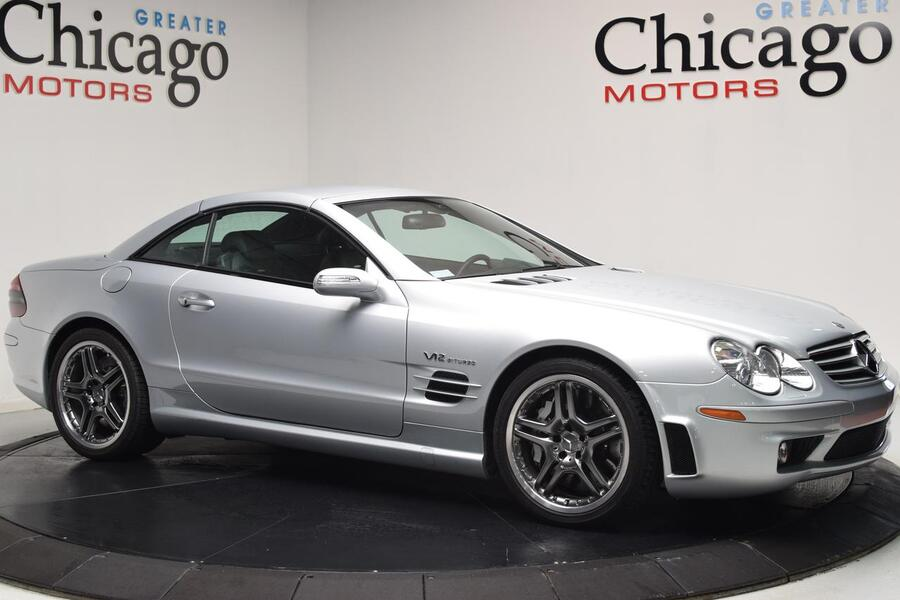 2006_Mercedes-Benz_SL65_6.0L V12 AMG 1 Owner Clean Carfax~Rare super low miles~600+ HP_ Chicago IL